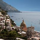 Positano By the Sea by phil decocco