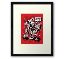 RvB - Not you average easter bunny Framed Print