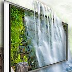 Waterfall Window by Jim Semonik