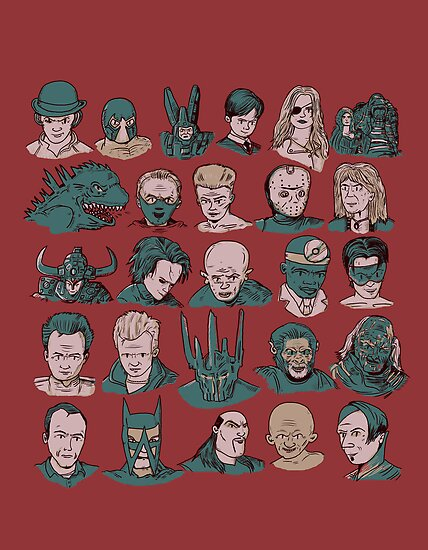 A-Z of Villains by Thomas Orrow