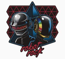 Robot Rock Sticker by Bamboota
