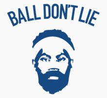 Ball Don't Lie (Blue) by typeo