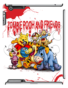 Zombie Pooh and Friends by DwightBynumJr