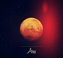 Ares / Mars  by Alexis Clunet