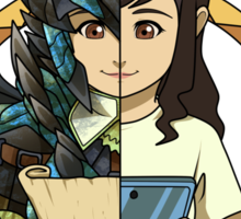 Hunter's Life (Azure Rathalos G) (F) Sticker