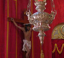 The Crucifix and the Lamp by fajjenzu