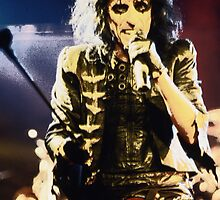 Alice Cooper by Sue Arber