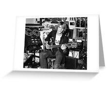 Stewart Copeland Greeting Card