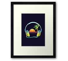 Beach Sounds Framed Print