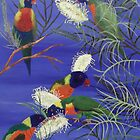 'LORIKEETS' by jansimpressions