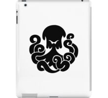 Bioshock Infinite Undertow Vigor [Black on White] iPad Case/Skin