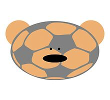 Teddy Bear plays Soccer by chrisbears