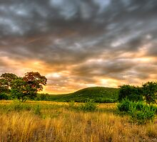 Texas Hill Country Ranch HDR by Paul Wolf