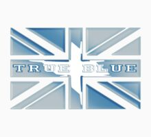 BRITISH UNION JACK UK FLAG true blue by TOM HILL - Designer