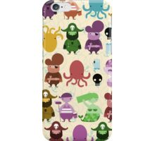the crew (pattern) iPhone Case/Skin