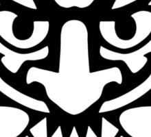 Bioshock Infinite Devil's Kiss Vigor [Black on White] Sticker