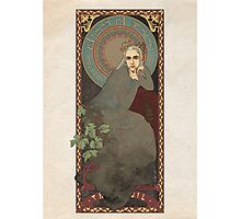 The Lord of the Rings / The Hobbit poster Thranduil the Elvenking / art nouveau Photographic Print