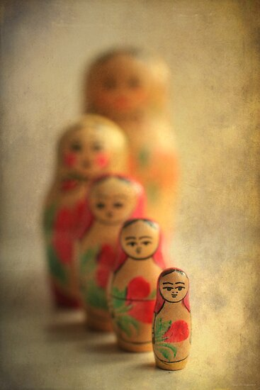 Matryoshka by Ursula Rodgers