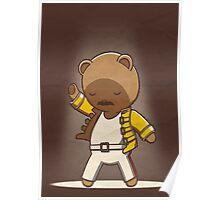 Teddy Mercury Poster