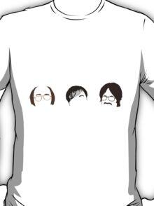 Derek (Ricky Gervais ) Minimal Heads T-Shirt