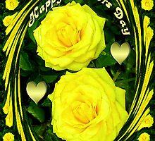 இڿڰۣ-ڰۣ—SAYING HAPPY MOTHER'S DAY WITH YELLOW ROSESஇڿڰۣ-ڰۣ— by ✿✿ Bonita ✿✿ ђєℓℓσ