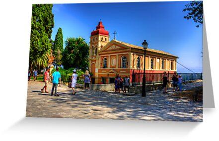 Church of Virgin Mary Mandrakina by Tom Gomez