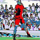 Abstract Tennis by ChrisButler