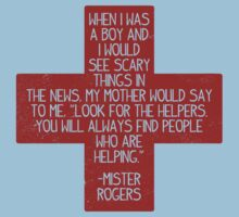 LOOK FOR THE HELPERS by Blair Campbell