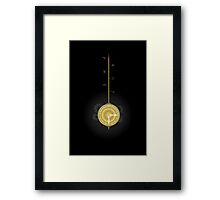 Time Pendelum Framed Print