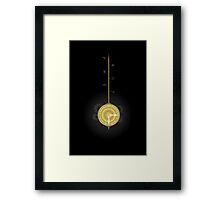 Time Pendelum Framed Print