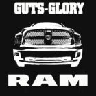 Glory Guts Ram white by Fl  Fishing