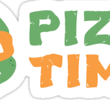 Pizza Time! Sticker