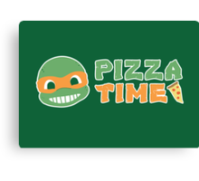Pizza Time! Canvas Print