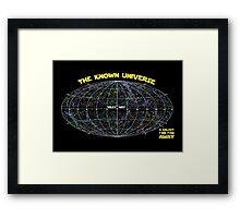 Known Universe Framed Print