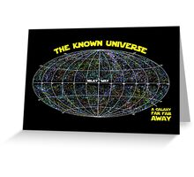 Known Universe Greeting Card