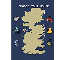 Choose Your House Photographic Print
