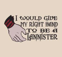 Game of Thrones Lannister Right Hand by Brantoe