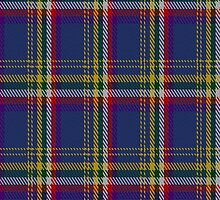 02046 Yukon (asymmetric) District Tartan Fabric Print Iphone Case by Detnecs2013