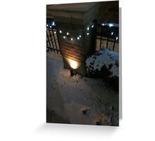 Lights On A String Greeting Card