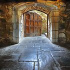 Open Door - Montsalvat by Hans Kawitzki