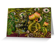 The Eyeball Garden Greeting Card