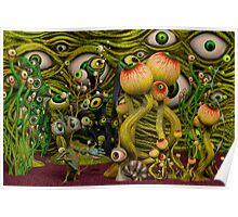 The Eyeball Garden Poster