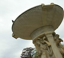 A Dry Dupont Circle Fountain by Cora Wandel