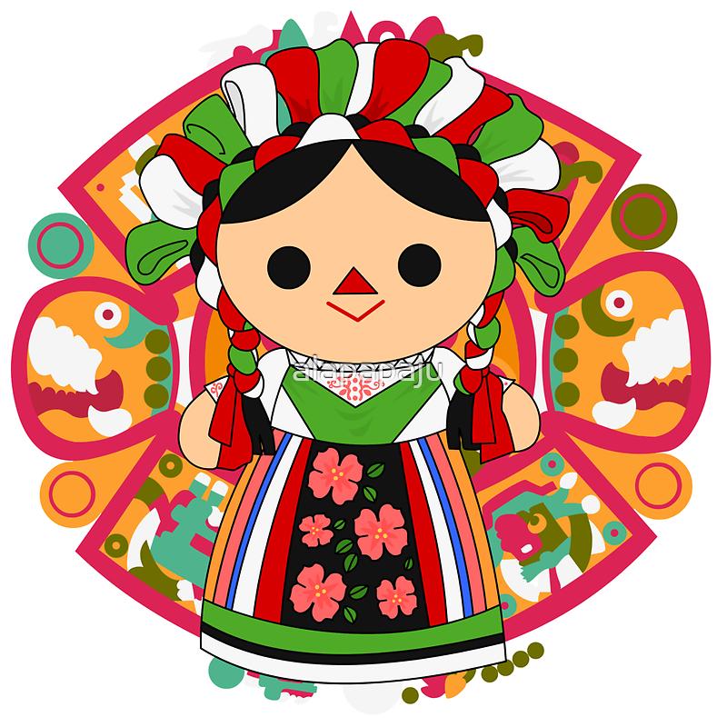 Maria 5 (Mexican Doll) by alapapaju