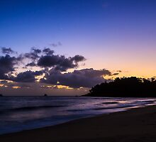 Sunrise from Ellis Beach by Peta Thames