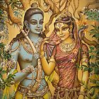 Sita and Rama by Vrindavan Das