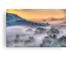 Play Misty For Me - Jingelic NSW/Walwa Victoria - Upper Murray - The HDR Experience Canvas Print