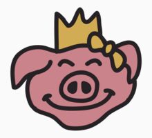 Pricess Pig Head by Style-O-Mat