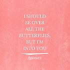 I Should Be Over All The Butterflies by laurenschroer