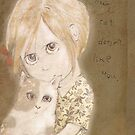 My cat doesn't like you. by Bethan Matthews